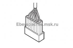 221000318000 Разъем электрический проводов с контактами и уплотнениями