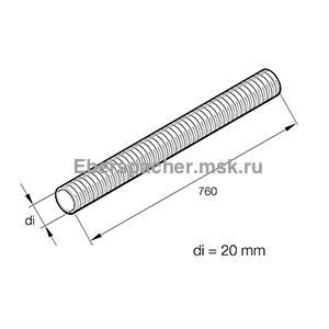 Воздуховод d=19 мм, 36000179