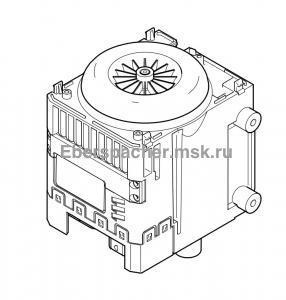 252434991500 Блок управления М10 12В  в сборе с воздушным нагнетателем