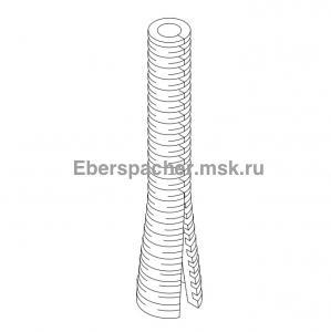 36031354 Гофрированная труба с разрезом
