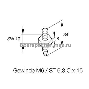 201673800101 Резинометаллический амортизатор