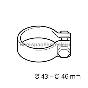 15209005 Хомут выхлопной трубы