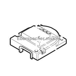 252424010300 Крышка вентилятора с уплотнением Hydronic II S