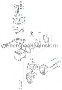 графический каталог запчастей для Hydronic II D 4 S 12V