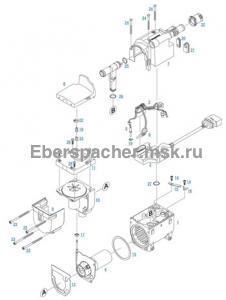 графический каталог запчастей для Hydronic II D 5 S 12V
