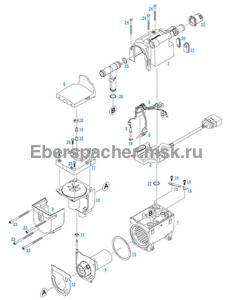 графический каталог запчастей для Hydronic II D 5 SC 12V