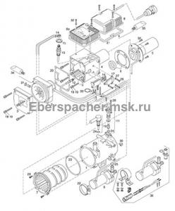 графический каталог запчастей для Hydronic 10 12V 252081