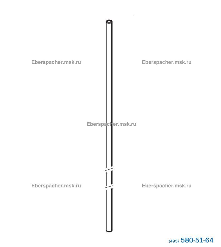 Топливная трубка (прозрачная) (внутр.1,25мм, наруж.4мм)   Артикул: 89031118