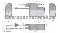 Габариты Eberspacher Hydronic II D5SC