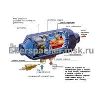 Airtronic D5 дизель (12 В) в разрезе